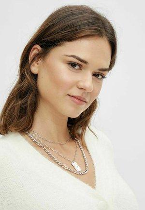 Necklace - silver colour