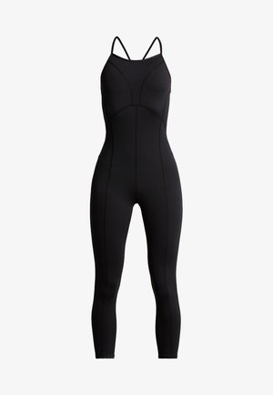 SIDE TO SIDE PERFORMANCE - Gym suit - black