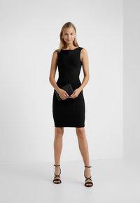 Hervé Léger - OFF SHOULDER BANDAGE DRESS - Shift dress - black - 1
