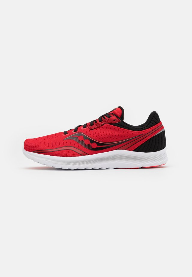 KINVARA 11 - Neutrala löparskor - red/black
