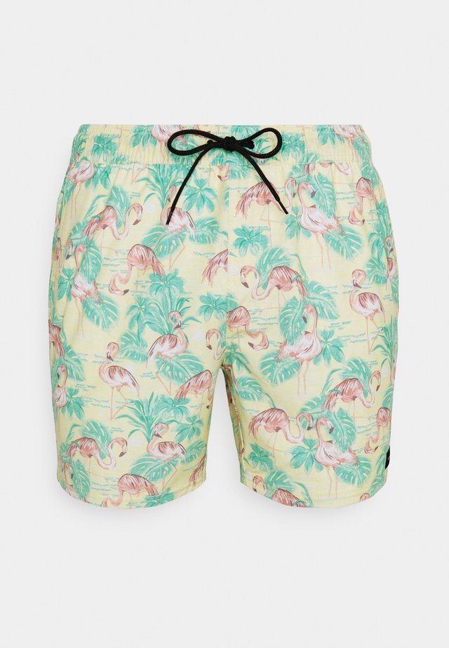 BEACH PARTY VOLLEY - Swimming shorts - yellow