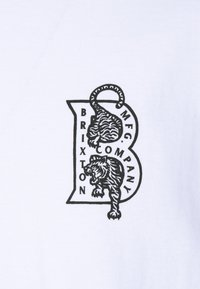 Brixton - CRAWLER - T-shirt imprimé - white - 2