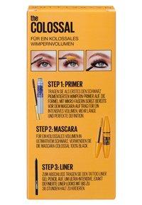 Maybelline New York - THE COLOSSAL SET - Makeup set - black - 1