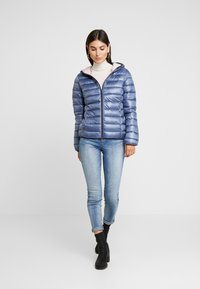 Q/S designed by - Winter jacket - blue/grey - 1