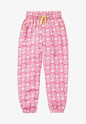 Trousers - pink, geometrisches ananasmuster
