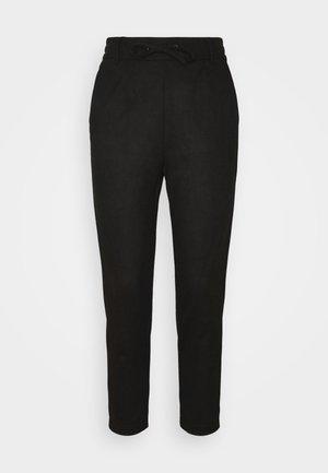 ONLPOPTRASH EASY PANT - Trousers - black