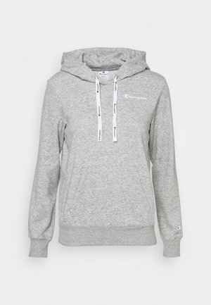 HOODED - Sweatshirt - grey melange
