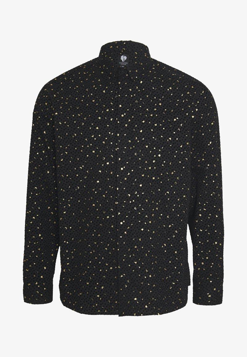 Twisted Tailor - FARROW PLUS - Shirt - black