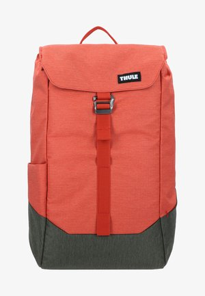 LITHOS - Rucksack - rooibos/forest