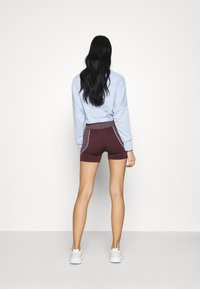 Missguided - SEAMLESS BOOTY - Shorts - burgundy - 2