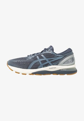 GEL-NIMBUS 21 - Neutral running shoes - tarmac/steel blue