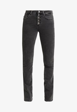 ONLBLUSH SWEET FLARED - Flared jeans - black denim