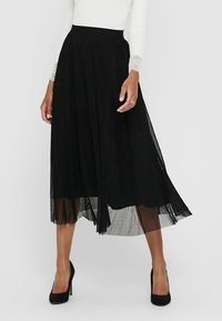 ONLY - Pleated skirt - black - 0