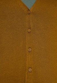 Anna Field - BASIC V-NECK CARDIGAN - Gilet - light brown - 5