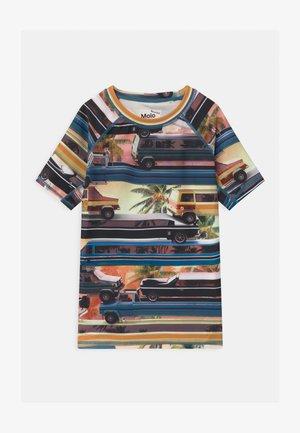 NEPTUNE - Camiseta de lycra/neopreno - multi-coloured/white