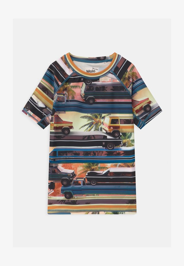 NEPTUNE - T-shirt de surf - multi-coloured/white