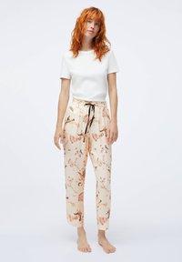OYSHO - Nattøj bukser - beige - 1