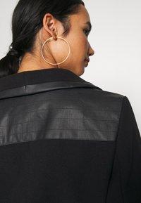 ONLY - ONLELLY MIX COAT - Abrigo clásico - black - 4