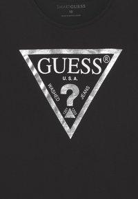 Guess - JUNIOR CORE - Maglietta a manica lunga - jet black - 2