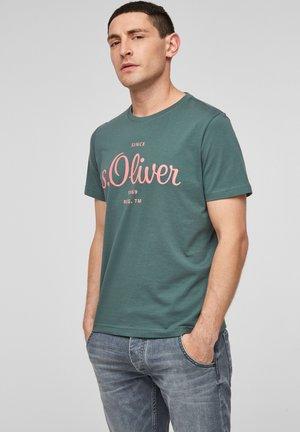 MIT LABEL-PRINT - Print T-shirt - pale green