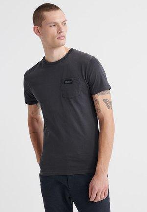 T-shirt - bas - lead grey