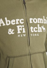Abercrombie & Fitch - LONG LIFE FULL ZIP - Bluza rozpinana - green - 6