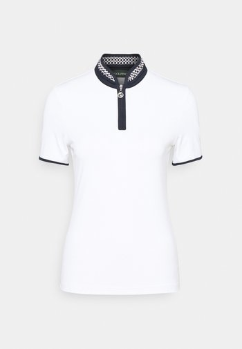 RACING TROYER - Print T-shirt - optic white