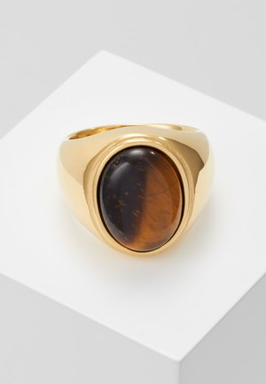 Ring - gold-coloured/brown