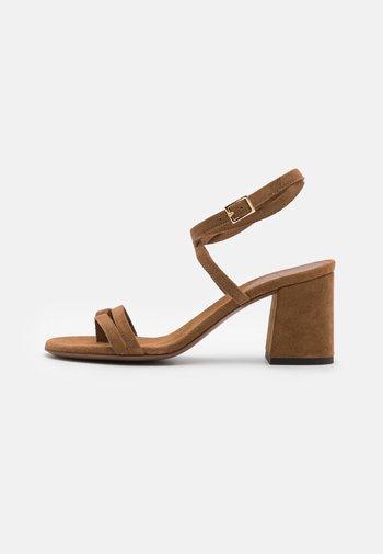 HEEL - Sandals - camel
