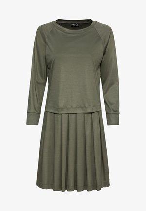 MITTI - Jersey dress - grün