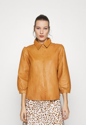 EMBER - Button-down blouse - meerkat