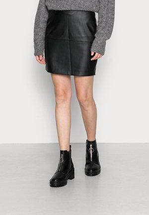 IHCOMANO  - Mini skirt - black