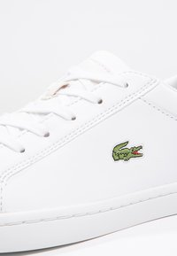 Lacoste - STRAIGHTSET - Baskets basses - white - 5