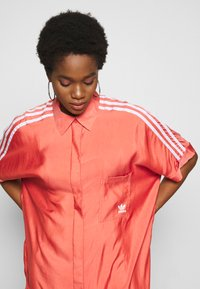 adidas Originals - DRESS - Shirt dress - trace scarlet - 3