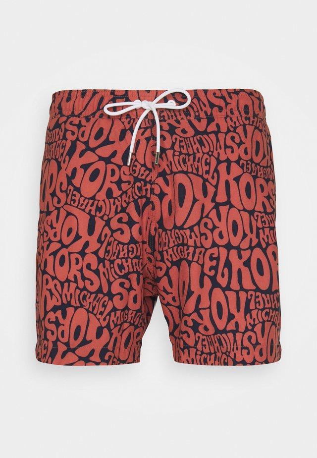 TRUNK HEADLINE - Shorts da mare - terracota