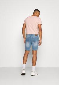 Urban Threads - Shorts - blue denim - 2