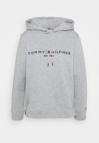 Tommy Hilfiger - REGULAR HOODIE - Sweatshirt - light grey heather - 0