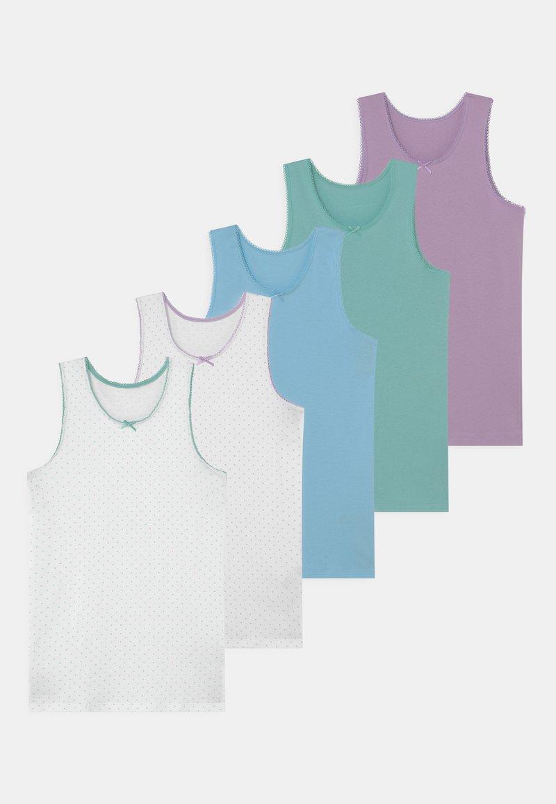 Marks & Spencer London - COLOUR 5 PACK - Undershirt - mint