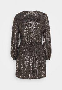 LIU JO - ABITO - Cocktail dress / Party dress - gold brown/gun metal - 1