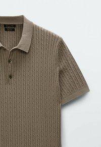 Massimo Dutti - Polo shirt - brown - 5