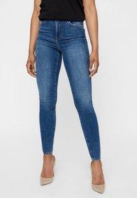 Vero Moda - Jeans Skinny Fit - dark blue - 0