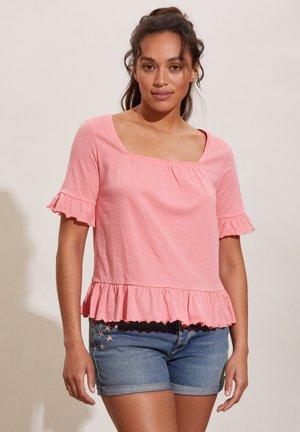 Basic T-shirt - pink dream