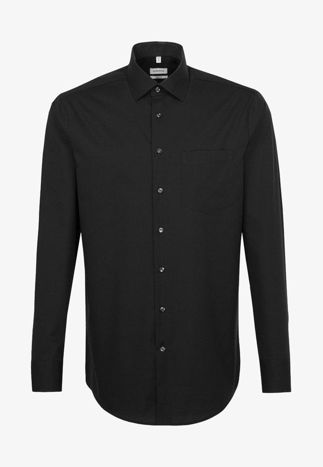 REGULAR FIT - Business skjorter - black