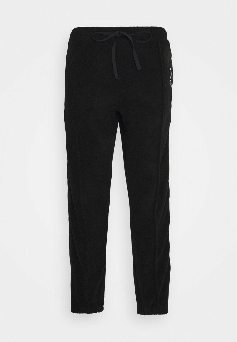 WRSTBHVR - SCOT PANTS UNISEX - Kalhoty - black