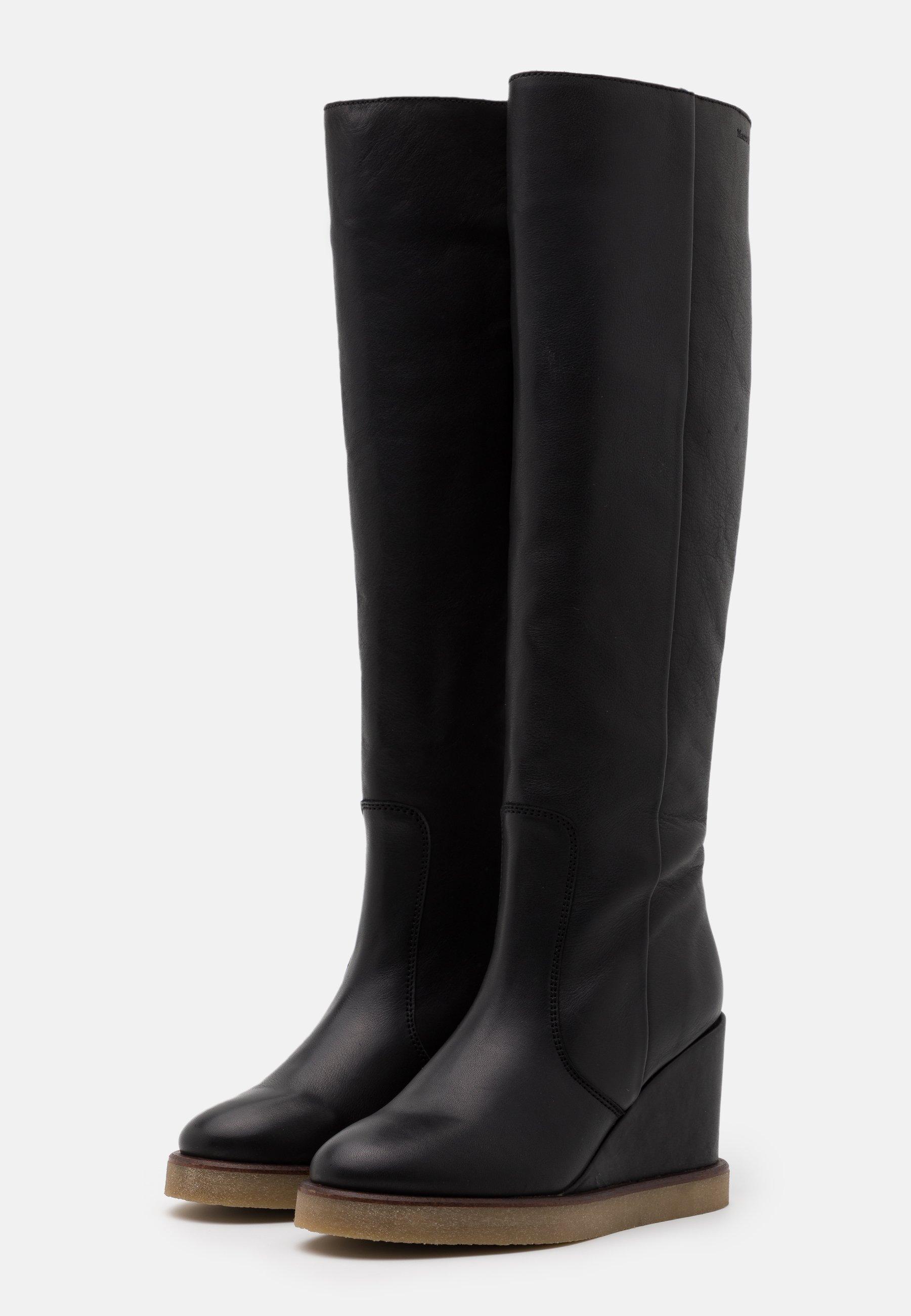 Marc O'Polo CELINA  High Heel Stiefel black/schwarz