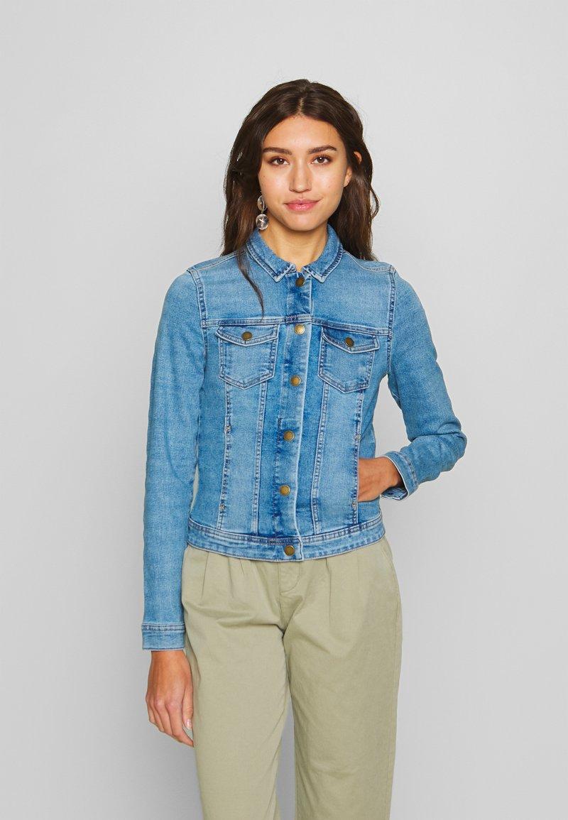 ONLY - ONLWESTA LIFE JACKET  - Jeansjakke - light blue denim