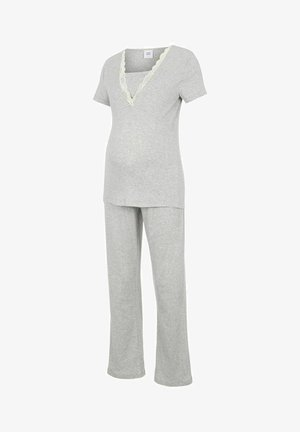 SET - Pijama - light grey melange