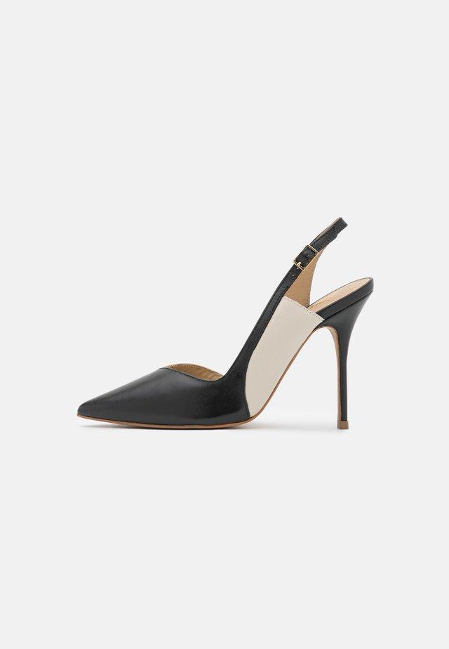 GALISLA - Klasické lodičky - noir/ivoire