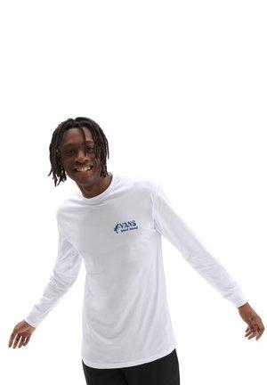 MN VANS GOOD MOOD LS - Long sleeved top - white