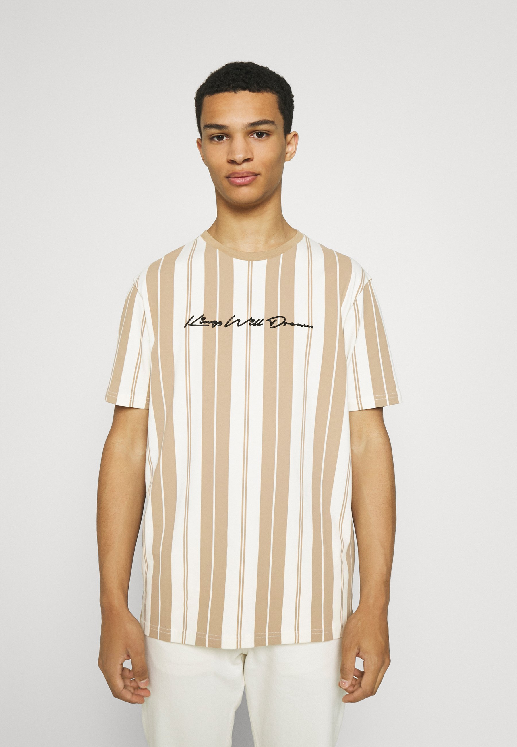 Men ALVERTON STRIPE TEE - Print T-shirt